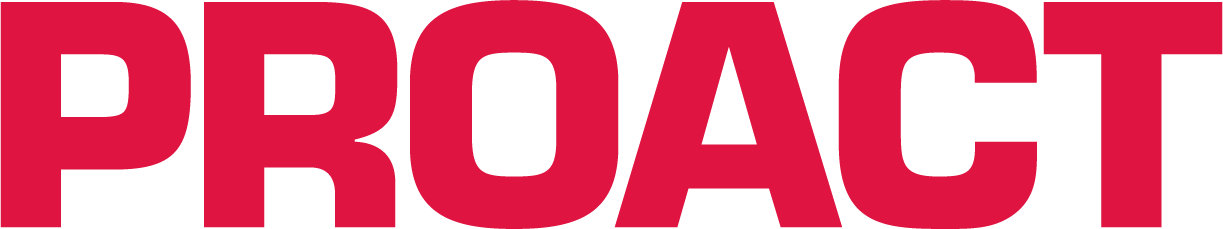 Proact logo Red CMYK